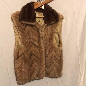 Neiman-Marcus vintage fur vest